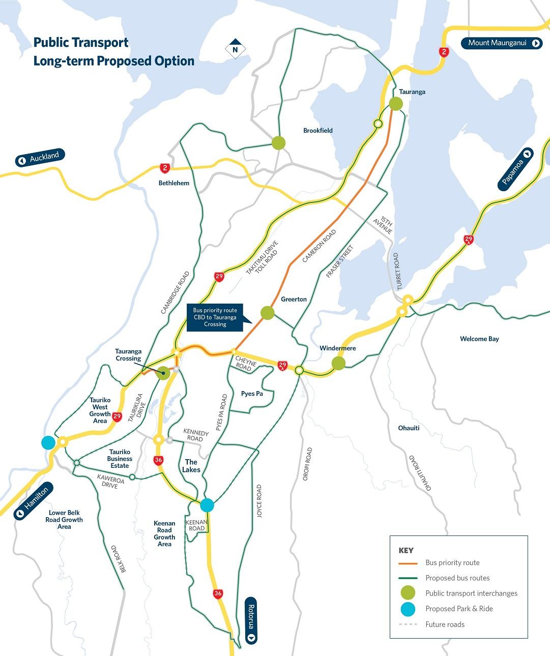 Public Transport Tauriko for Tomorrow